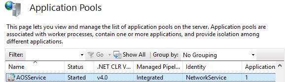 app pool