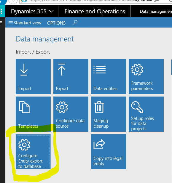 How to read data from a production instance in D365 #Dyn365FO