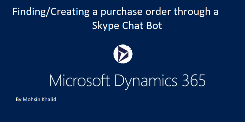 Testing the Payable Skype Chat Bot to create and find a Purchase